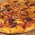 Domino's薄餅店的Americana Pizza
