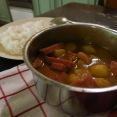自製咖哩午餐肉飯